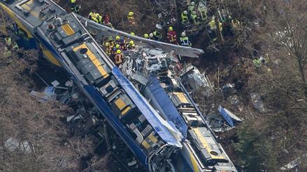 Alemania: responsable de accidente ferroviario jugaba con su teléfono