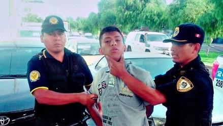 Trujillo: detienen adolescente tras arrebatar celular a universitaria