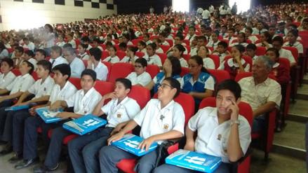 Lambayeque: 940 alumnos juramentaron como fiscales escolares