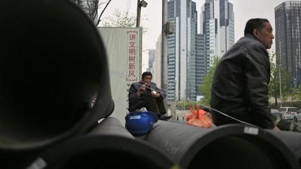 La economía de China crece un 6,7 % en el primer trimestre