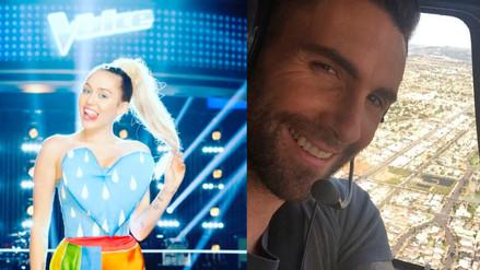 Miley Cyrus y Adam Levine no se toleran