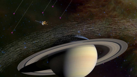 Sonda Cassini detecta polvo interestelar dentro del sistema solar
