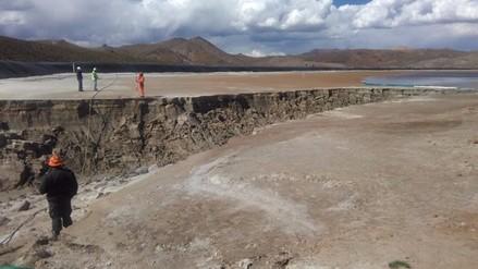 OEFA no descartó afectación en ríos por derrame de relaves mineros