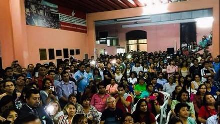 Crónica: más de 800 se inscribieron en Acción Popular