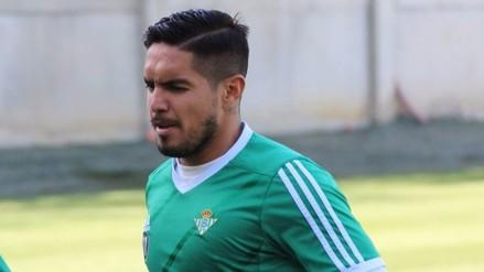 Real Betis: Juan Vargas no jugará ante el Celta de Vigo