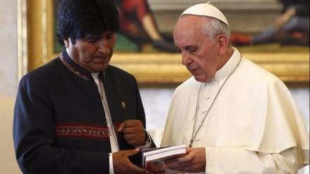 Evo Morales al papa Francisco: