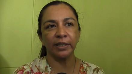 Marisol Espinoza confiada en que será reelegida congresista