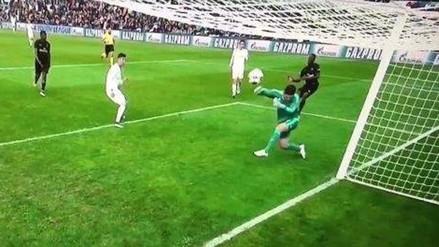 Real Madrid: llaman miedoso al hijo de Zinedine Zidane por esta atajada