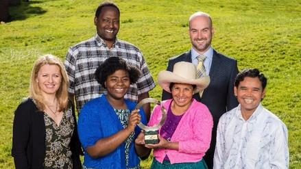 Máxima Acuña gana premio Goldman a favor del medio ambiente