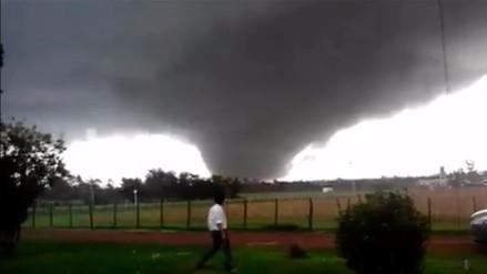 Imágenes y videos impactantes del tornado que dejó 4 muertos en Uruguay