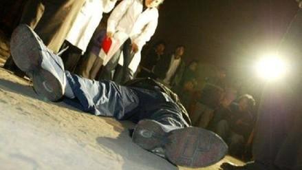 Obrero fue asesinado de siete disparos en Pomalca