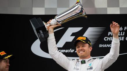 GP de China: Nico Rosberg ganó por delante de Vettel y Kvyat (VIDEO)