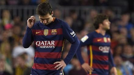 Barcelona cayó 1-2 frente al Valencia en la Liga BBVA