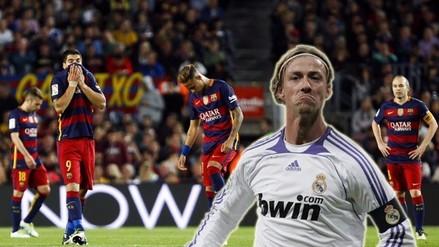 Barcelona vs. Valencia: Guti se burló en Twitter de la derrota 'culé'