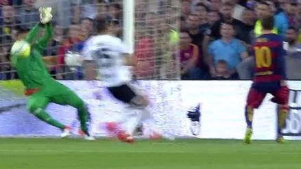Barcelona vs. Valencia: Lionel Messi no pudo batir a Diego Alves