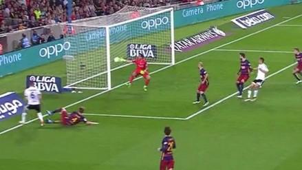 Barcelona vs. Valencia: autogol de Iván Rakitic silenció el Camp Nou