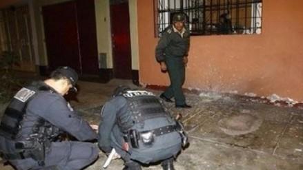 Huamachuco: detonan dinamita en puerta de vivienda