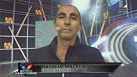Reto de Campeones: Natalia Málaga suelta lisura al aire