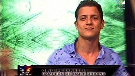 Reto de Campeones: Gino Pesaressi se incorporó al reality