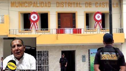 Distrito de Castilla coloca carpa para enviar ayuda humanitaria al Ecuador