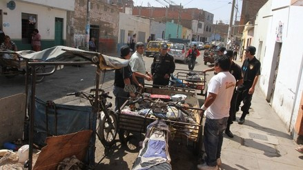 Trujillo: desalojan ambulantes alrededor de 'Tacorita'