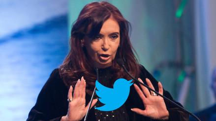 Cristina Fernández vuelve a arremeter contra Macri en Twitter