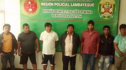 Amplían detención de siete presuntos extorsionadores
