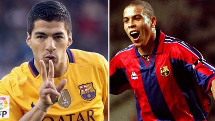 Barcelona: Luis Suárez supera registro goleador de Ronaldo
