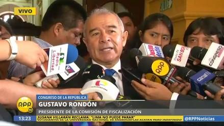 """Rondón: """"Hay que buscar la verdad duela a quien le duela"""""""