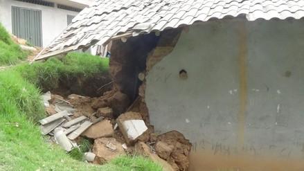 Huamachuco: jardín de niños colapsa por lluvias y explosiones
