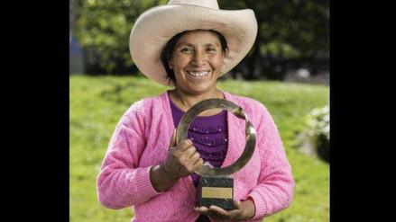 Premio Goldman a Máxima Acuña generó diferentes opiniones
