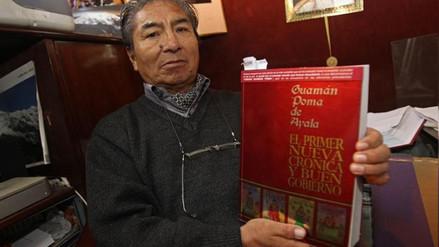 Cronista Guamán Poma dejó un código en su obra para reivindicar su autoría
