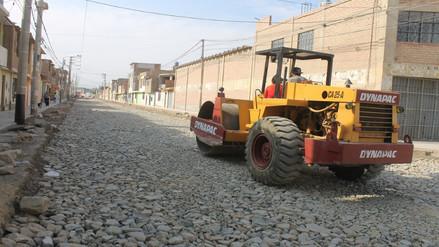 Avanza pavimentación del circuito vial El Ayllu – Yahuarhuaca