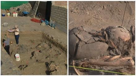 Huanchaco: hallan 15 cadáveres con vasijas de época Inca y Colonial