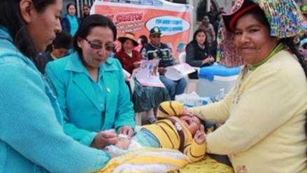 Perú y Bolivia lanzaron semana de vacunación de las Américas en línea de frontera