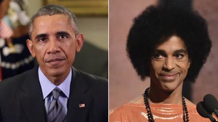 Barack Obama se une al dolor por la muerte de Prince