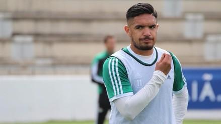 Juan Vargas volvió a entrenar con normalidad en el Real Betis