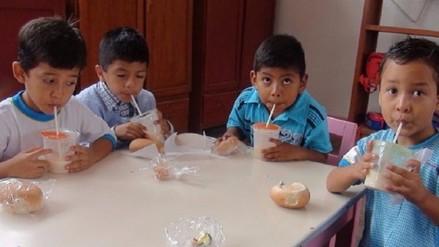 Cerca de 14 mil escolares de Lambayeque aún no reciben desayunos escolares de Qali Warma