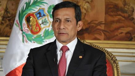 """Humala: """"Dos millones 285 mil peruanos dejaron de ser pobres"""""""