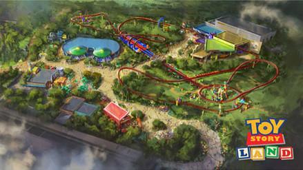 Toy Story tendrá su propio parque de diversiones