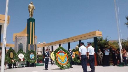 Chiclayo: rinden homenaje a héroe José Quiñonez Gonzales en Pimentel