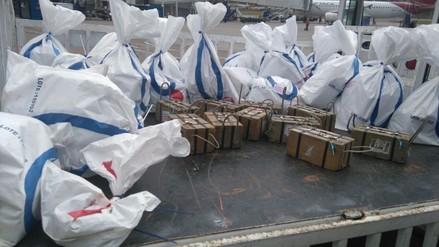 Decomisan 230 kilos de oro en el aeropuerto del Cusco