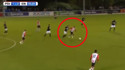 YouTube: Luiz da Silva brindó pase con clase en triunfo del Jong PSV