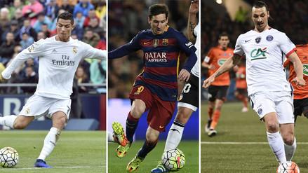 Cristiano Ronaldo y Lionel Messi en la pelea por la Bota de Oro