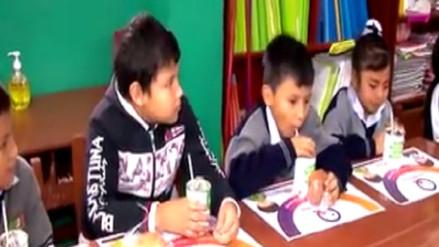 Declaran de prioridad el consumo de alimentos sanos en colegios