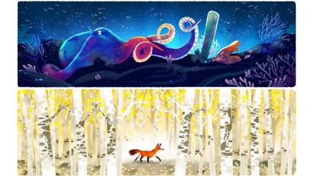 Google celebra el Día de la Tierra con cinco doodles