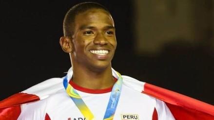 Andy Martínez batió récord nacional de los 100 metros planos