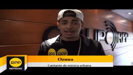 Ozuna ya se encuentra en Lima para ofrecer concierto