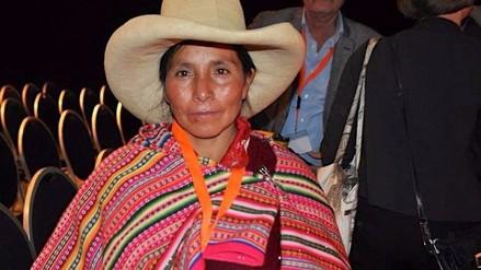 Máxima Acuña: Seguiré en mi pueblo, la política no me interesa
