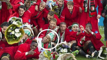 Feyenoord de Renato Tapia se consagró campeón de la Copa de Holanda